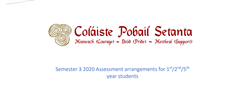 Information on 1st, 2nd and 5th year end of year Assessments
